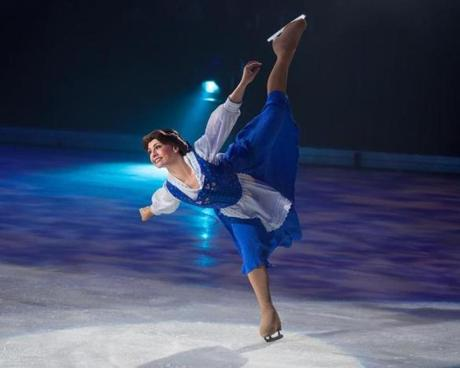 Disney on Ice: Dare to Dream. Pictured: Belle.